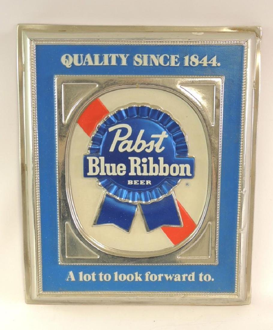 Vintage Pabst Blue Ribbon Advertising Sign