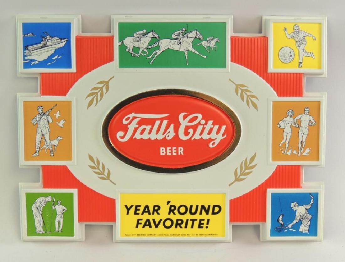 Vintage Falls City Beer Advertising Sign