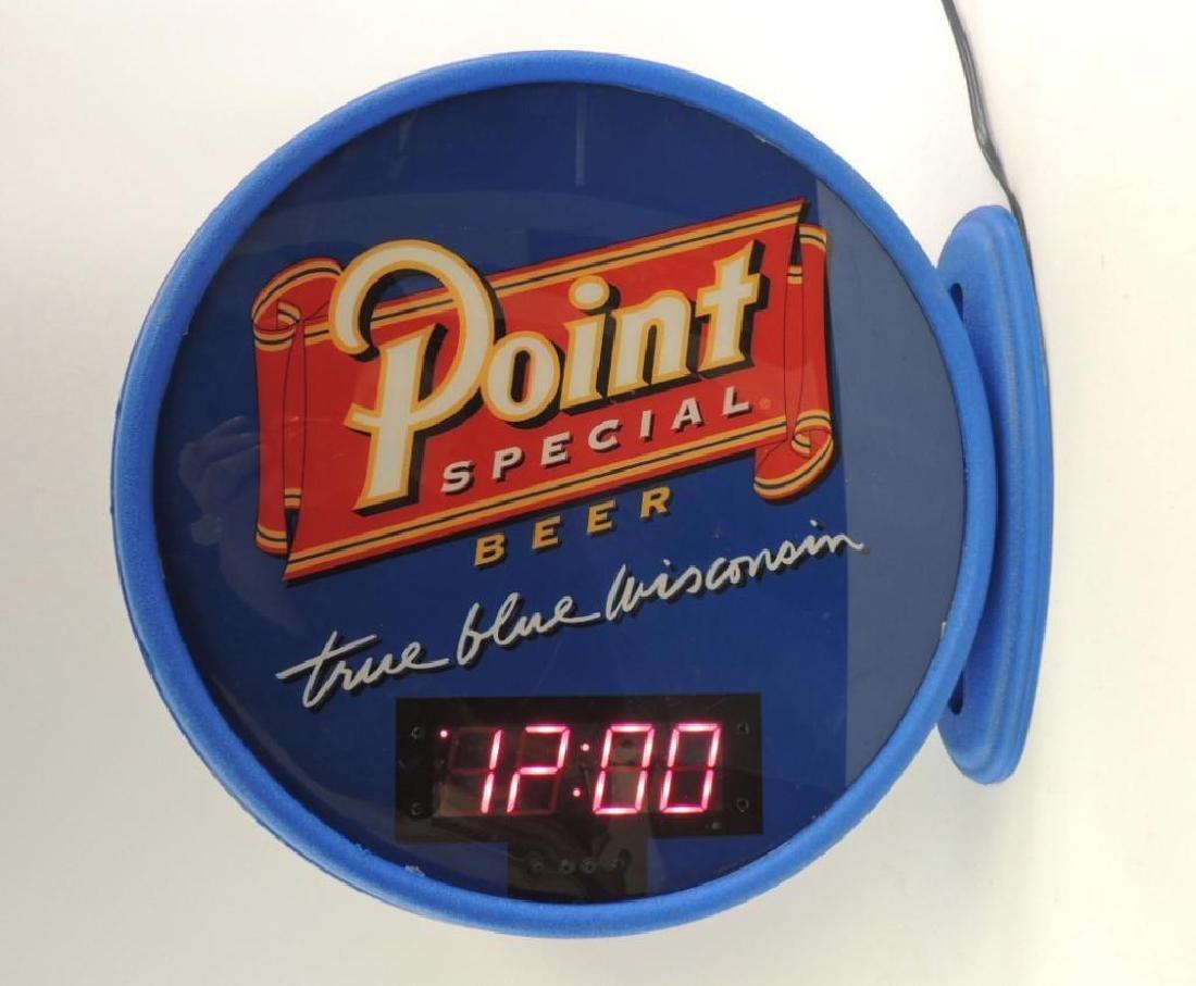 "Point Special Beer ""True Blue Wisconsin"" Advertising"