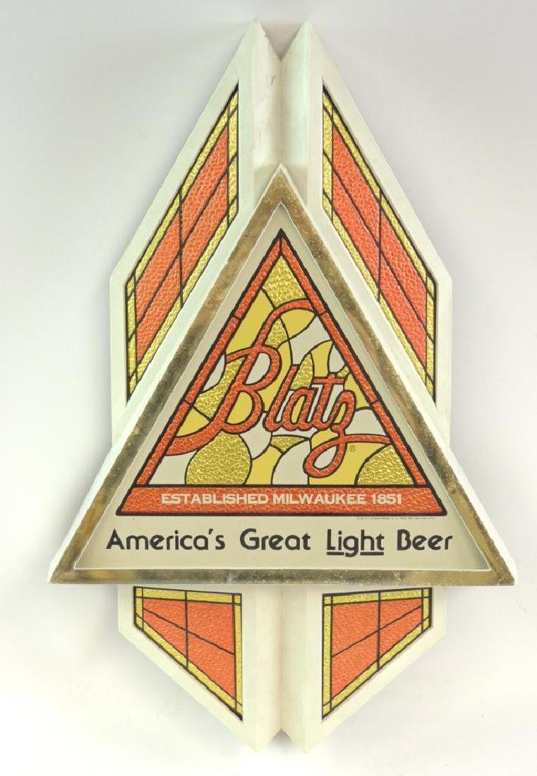 Vintage Blatz Advertising Beer Sign