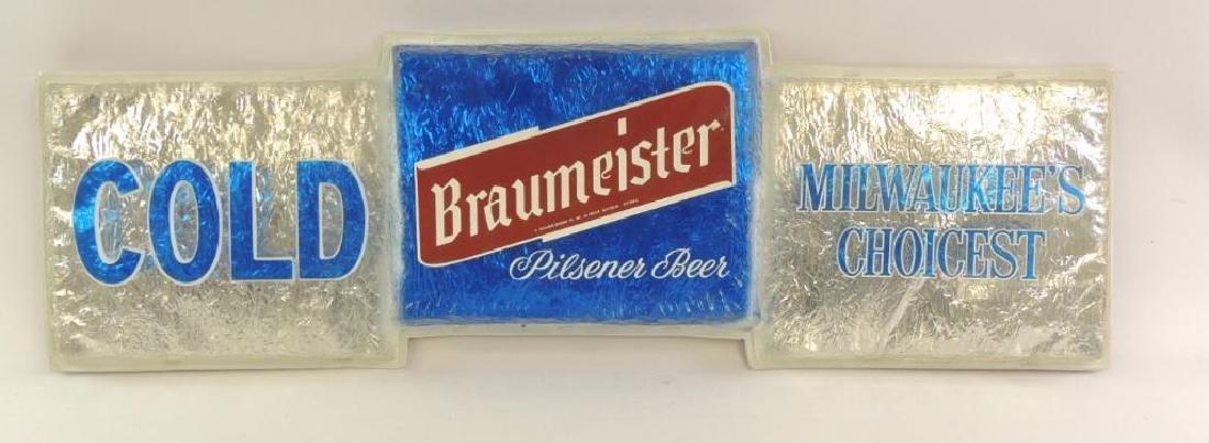 Vintage Braumeister Pilsner Beer Advertising Foil Beer