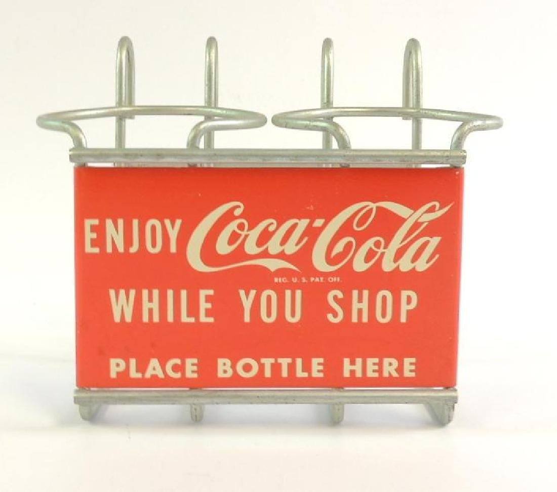 "Vintage ""Enjoy Coca-Cola While you Shop"" Grocery Cart"