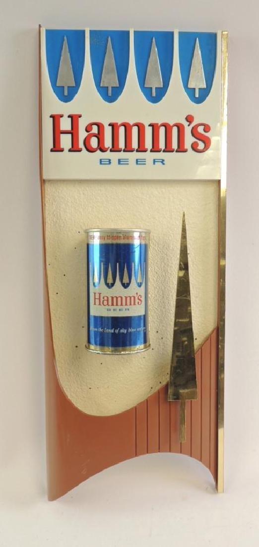Vintage Hamm's Beer Aluminum Top Can Advertising Beer