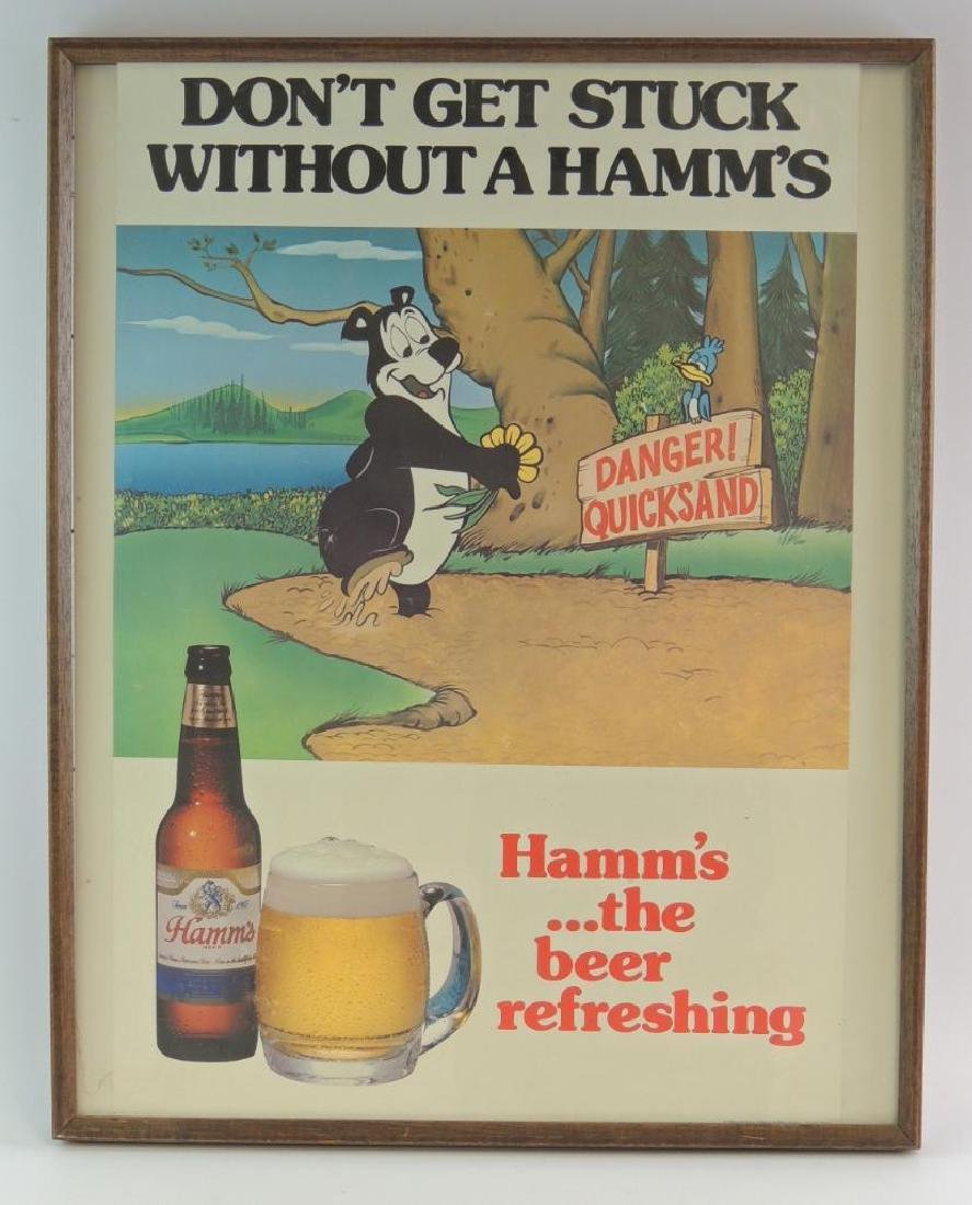 """Vintage Hamm's Beer """"Don't Get Stuck Without A Hamm's"""""""
