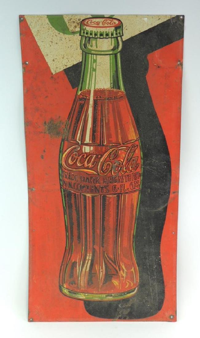 Vintage Coca-Cola Advertising Metal Sign
