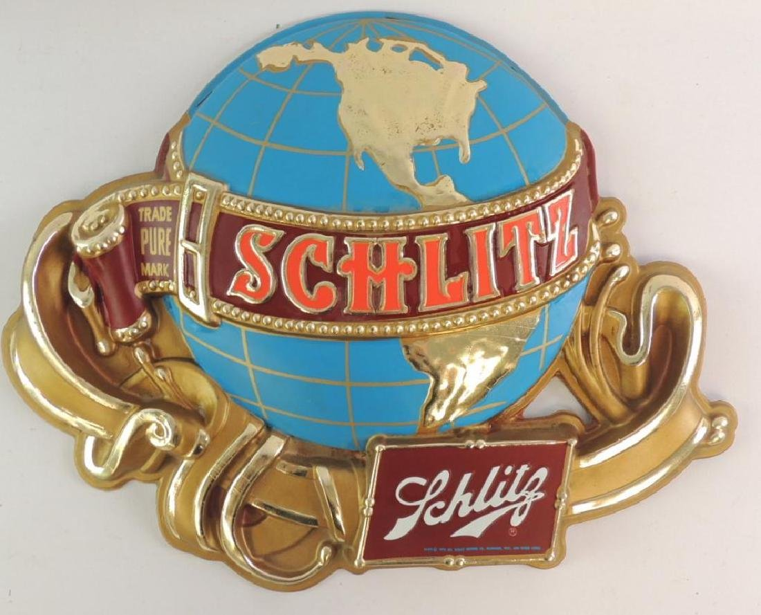 Vintage Schlitz Advertising Beer Sign