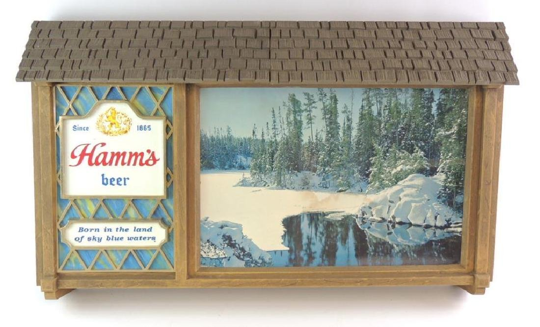 Vintage Hamm's Beer Advertising Sign