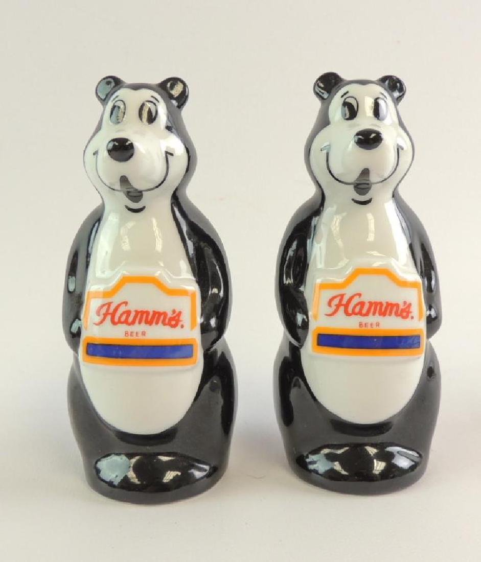 Hamm's Beer Advertising Salt and Pepper Shakers