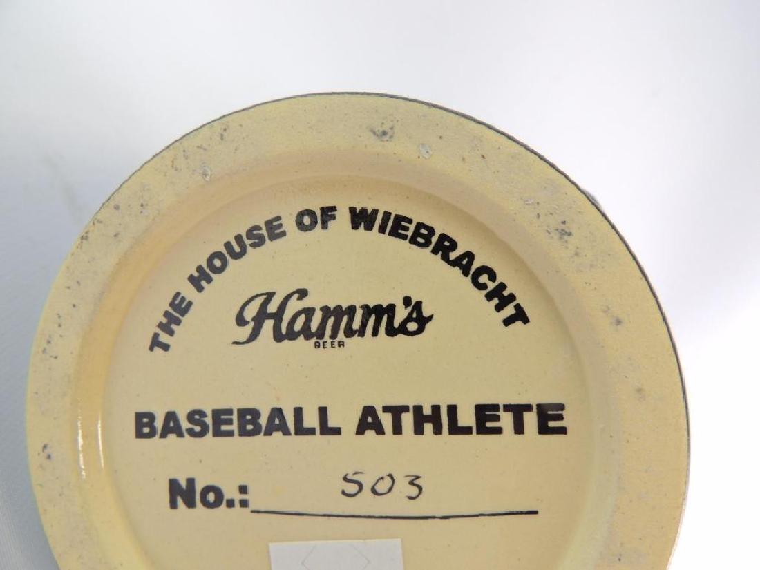 Hamm's Beer Baseball Athlete Ceramic Stein - 3