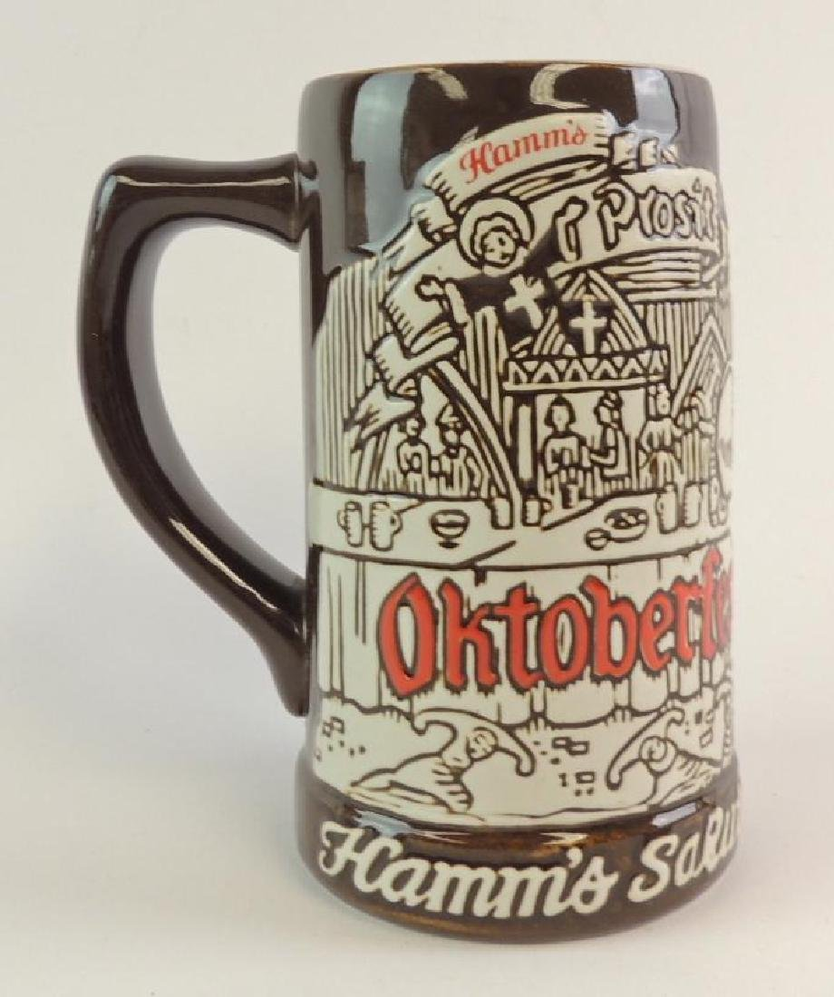 Hamm's Beer Salutes Octoberfest 1973 Advertising Stein