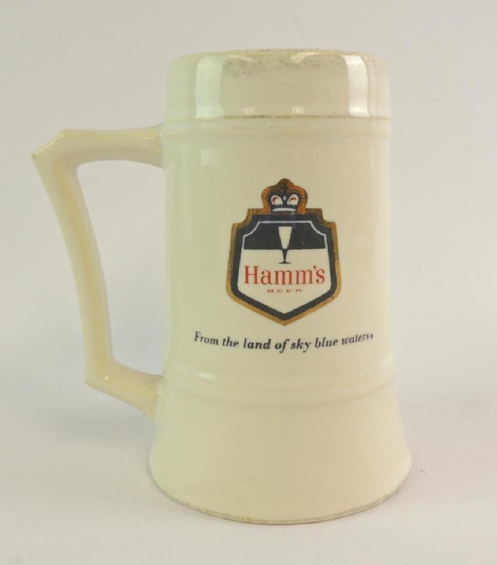 Vintage Hamm's Beer Advertising Stein