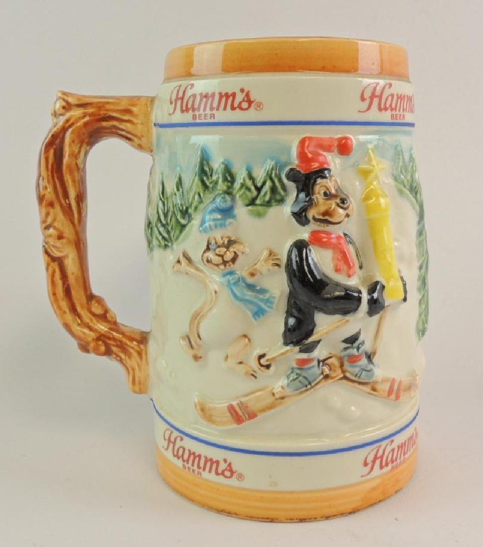Vintage 1986 Hamm's Beer Limited Edition Skiing