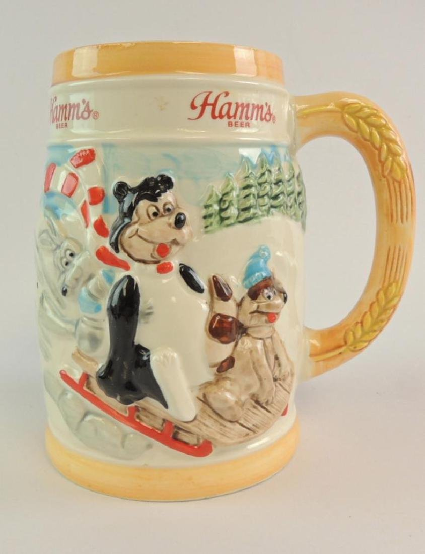 Vintage 1987 Hamm's Beer Limited Edition Sledding
