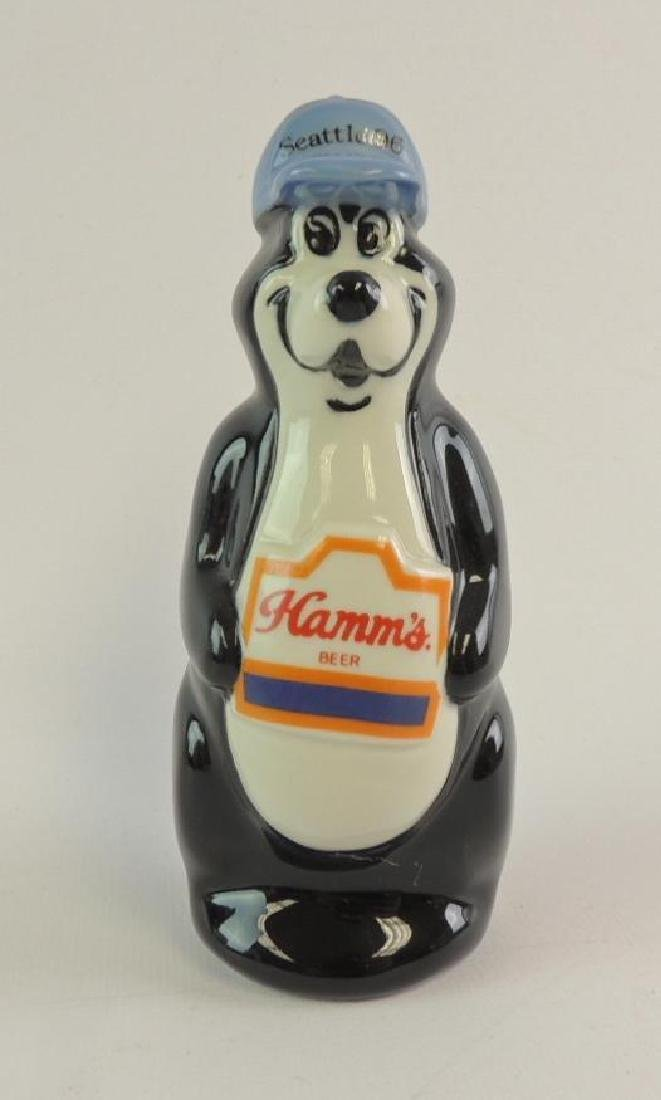 1996 Hamm's Beer Seattle Ceramic Advertising Figurine