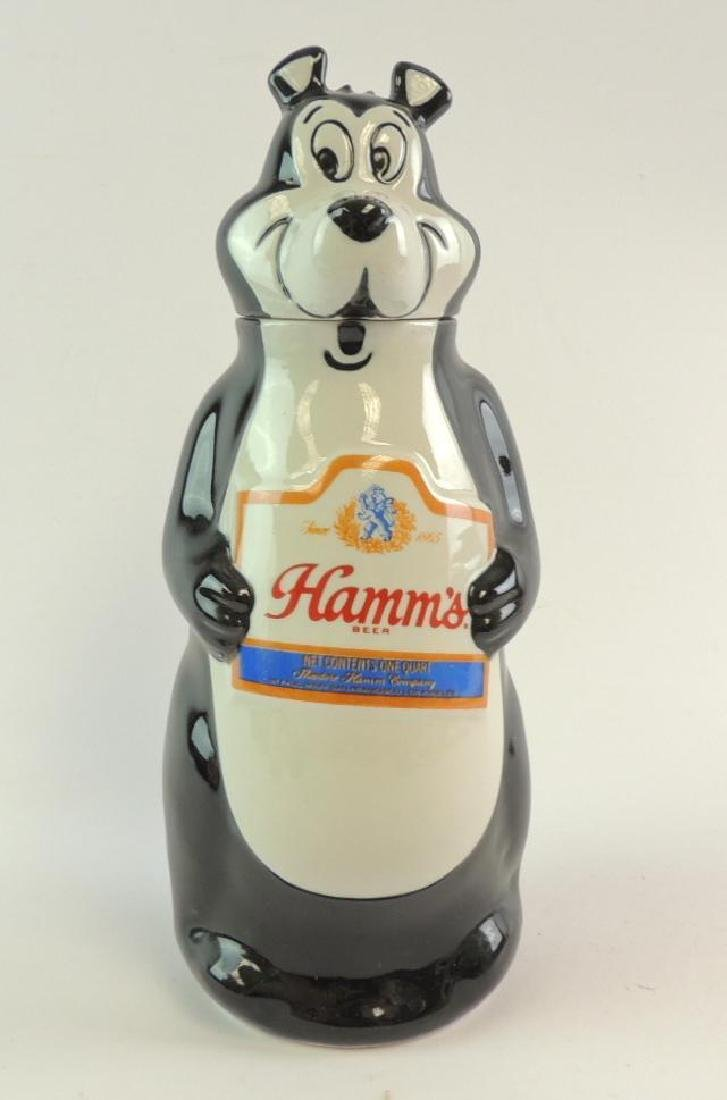 Vintage Hamm's Beer 1972 Advertising Decanter