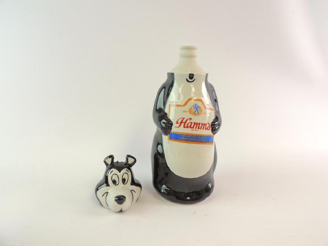 Vintage Hamm's Beer 1972 Advertising Decanter - 2