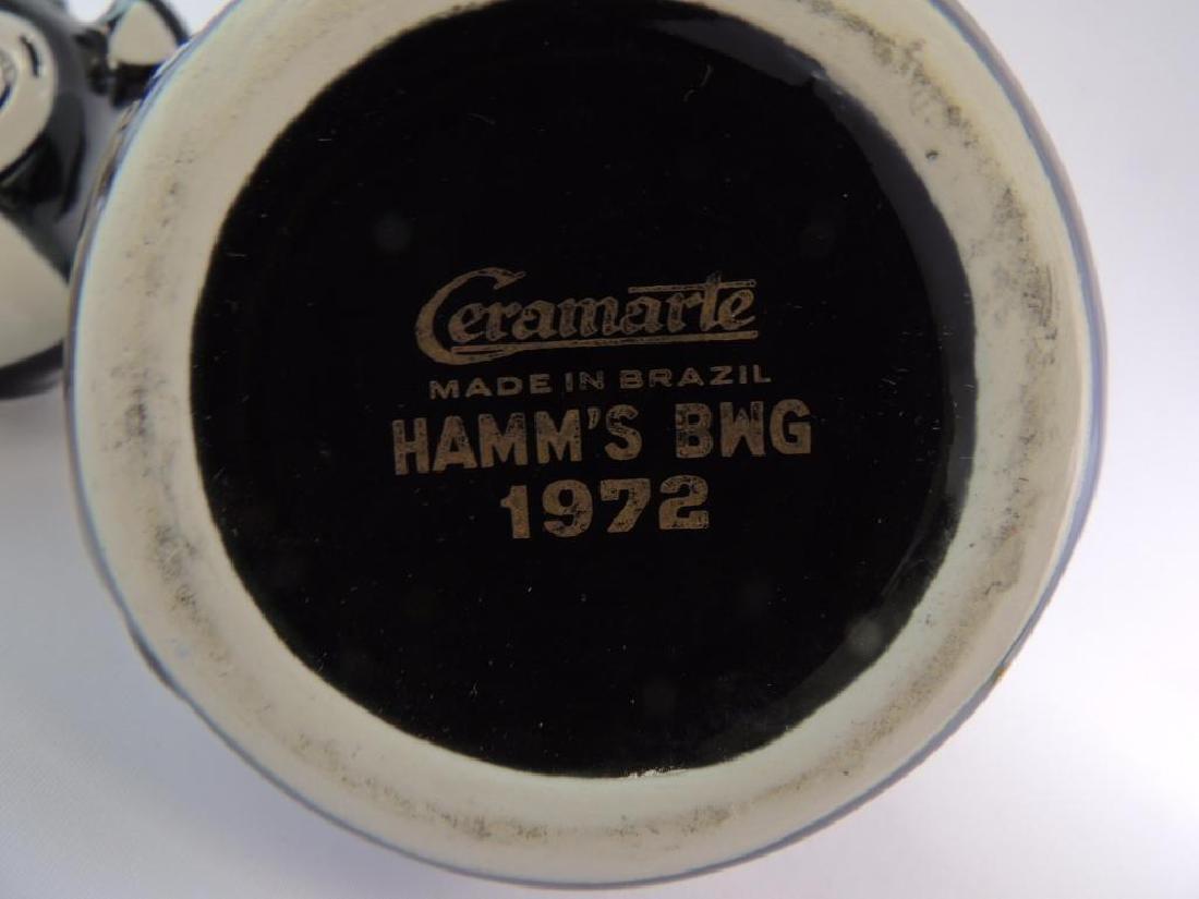 Vintage Hamm's Beer 1972 Advertising Decanter - 3