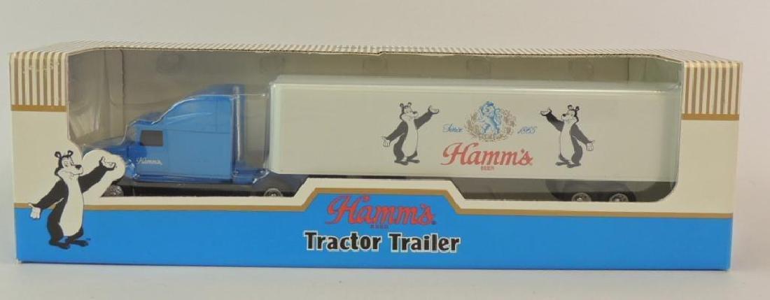 ERTL Hamm's Beer Die-Cast Tractor Trailer