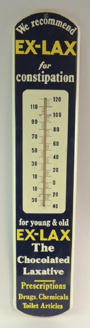 Vintage Ex-Lax Advertising Thermometer