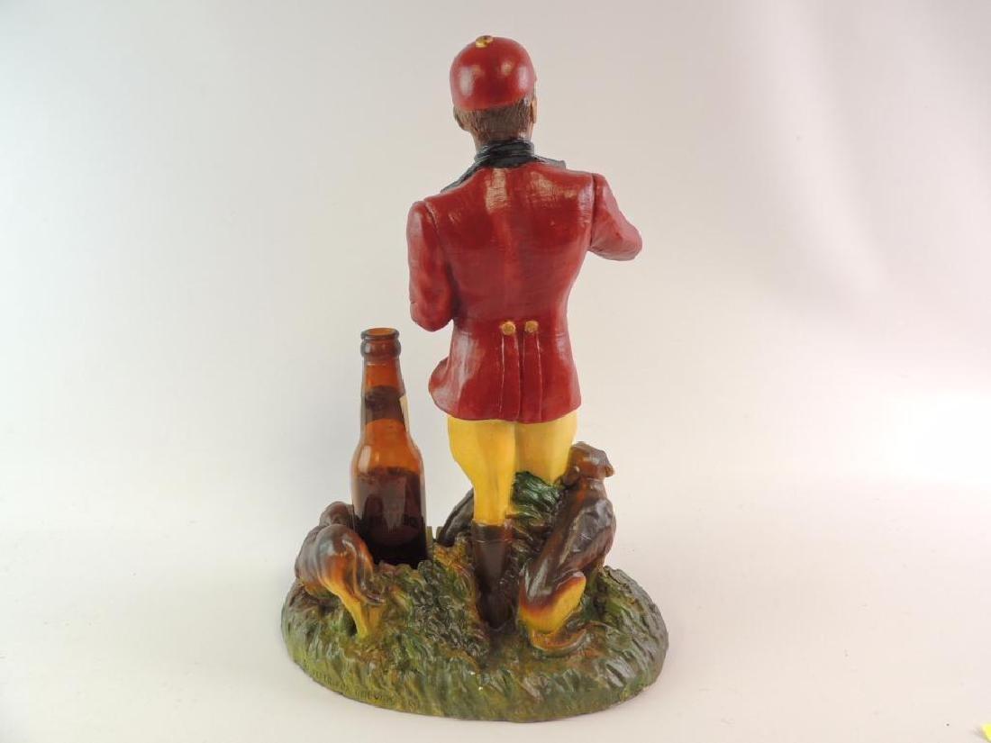 Vintage Fox Deluxe Advertising Counter Top Beer Statue - 3