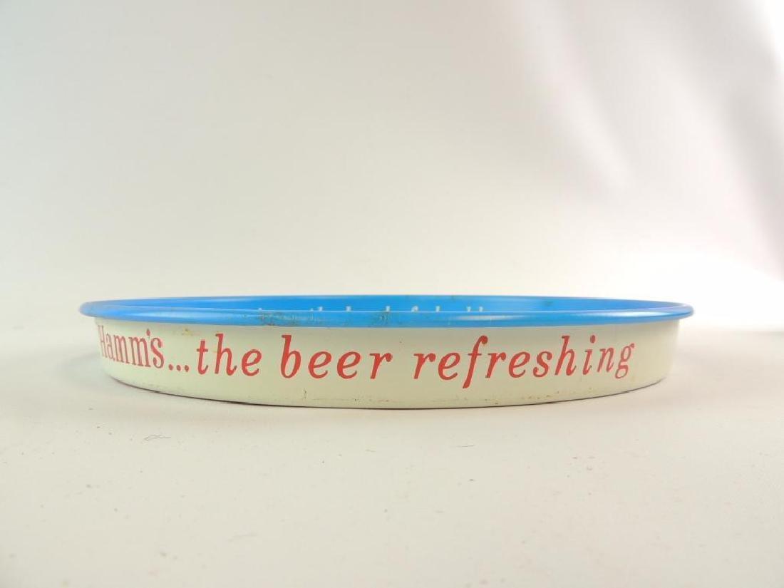 Vintage Hamm's Beer Advertising Beer Tray - 3