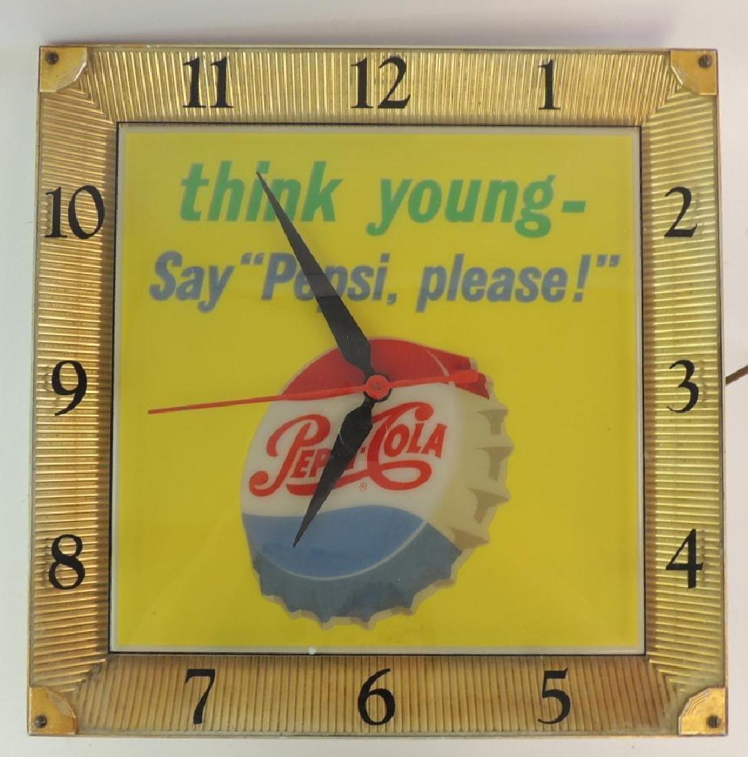 "Vintage Pepsi-Cola ""Think Young Say Pepsi Please"""