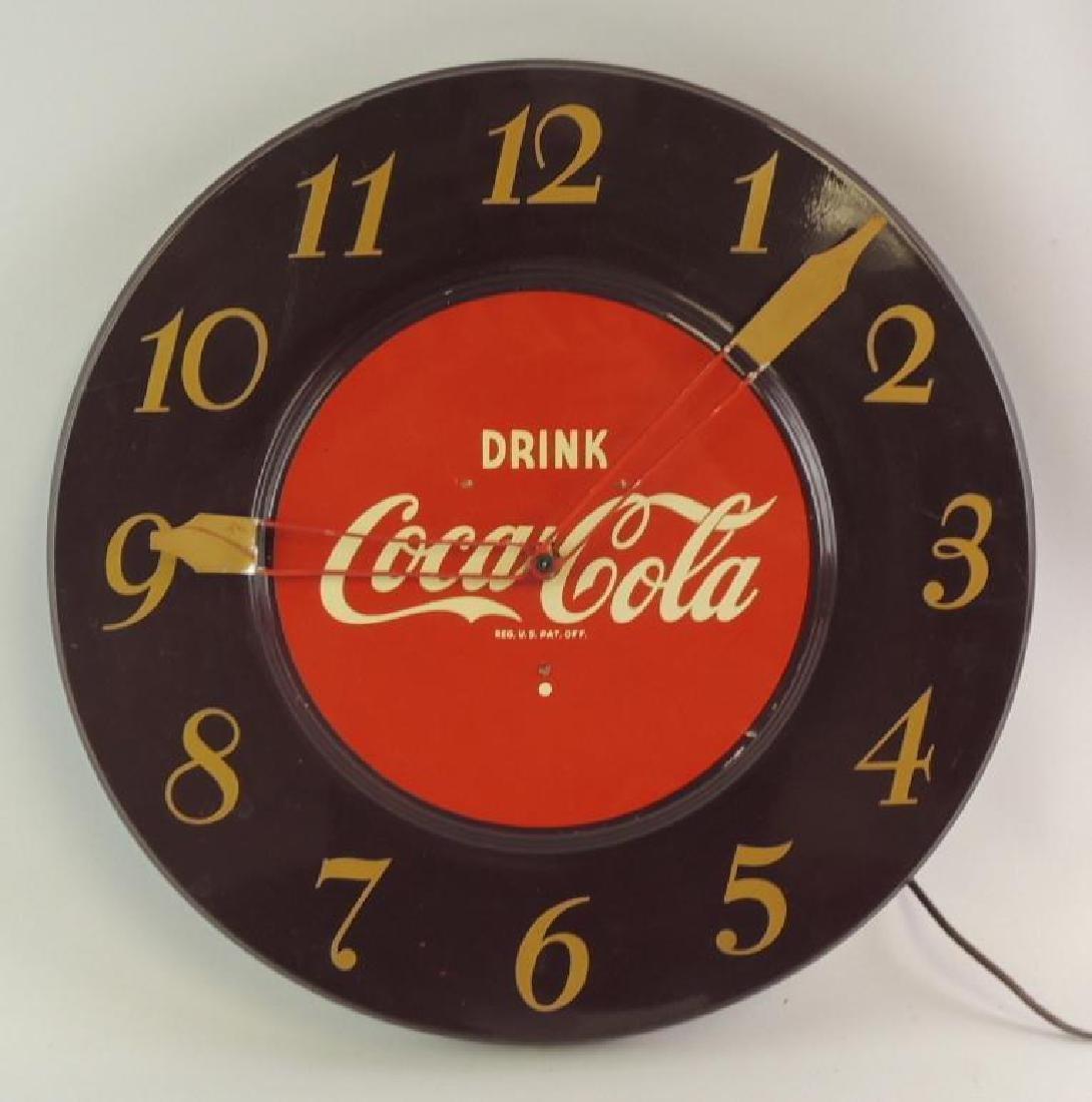 Vintage Coca-Cola Advertising Clock