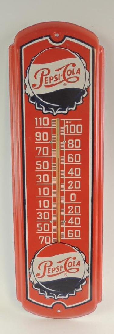 Pepsi-Cola Advertising Thermometer