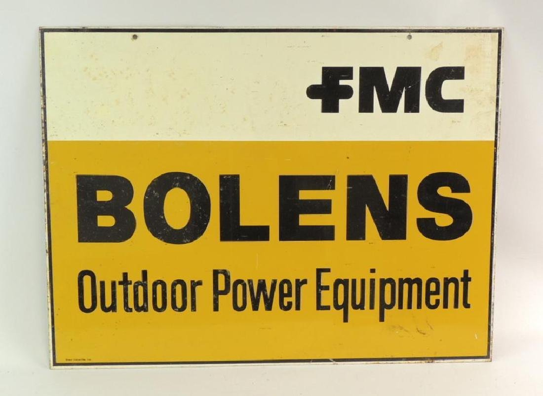 Vintage Double Sided Bolens Outdoor Power Equipment