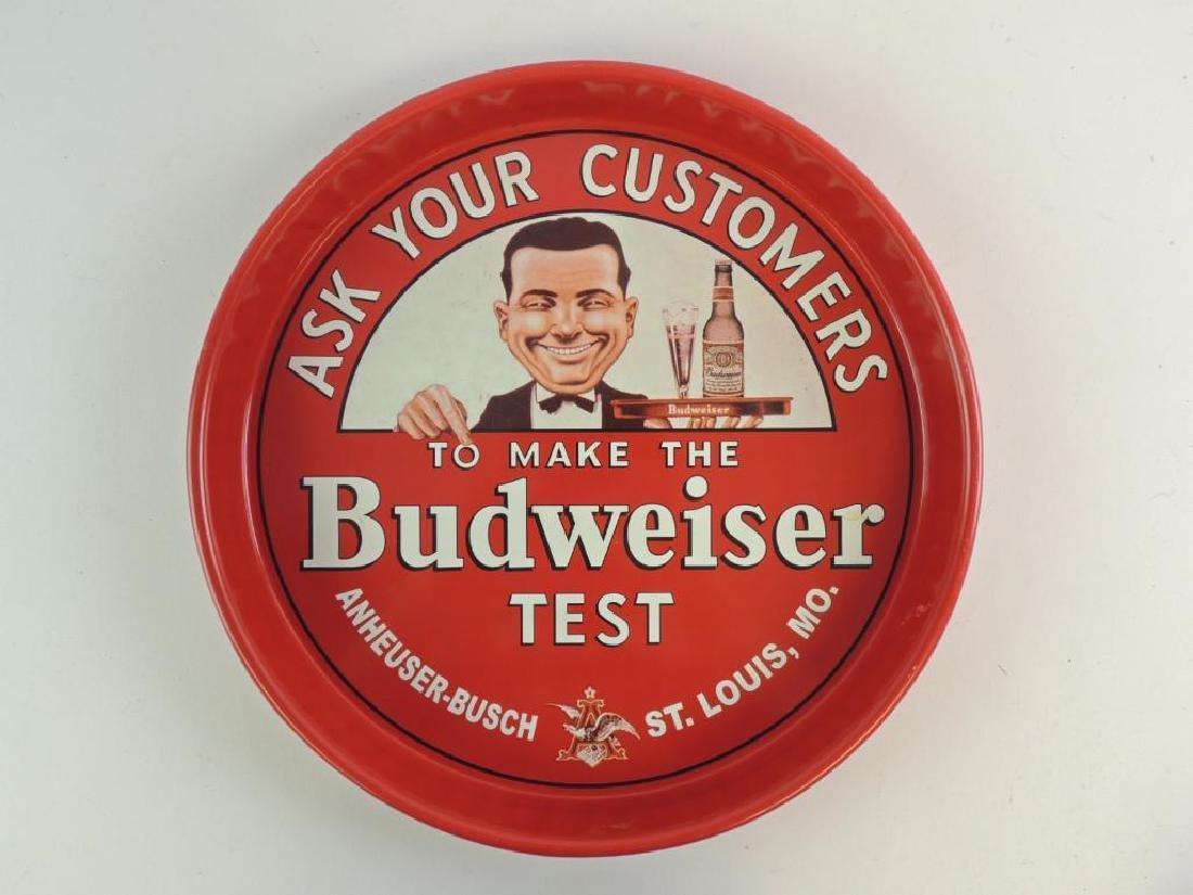 Budweiser Advertising Beer Tray