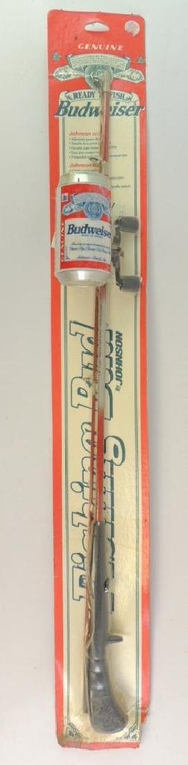 Budweiser Ready to Fish Fishing Bud by Johnson Rod and