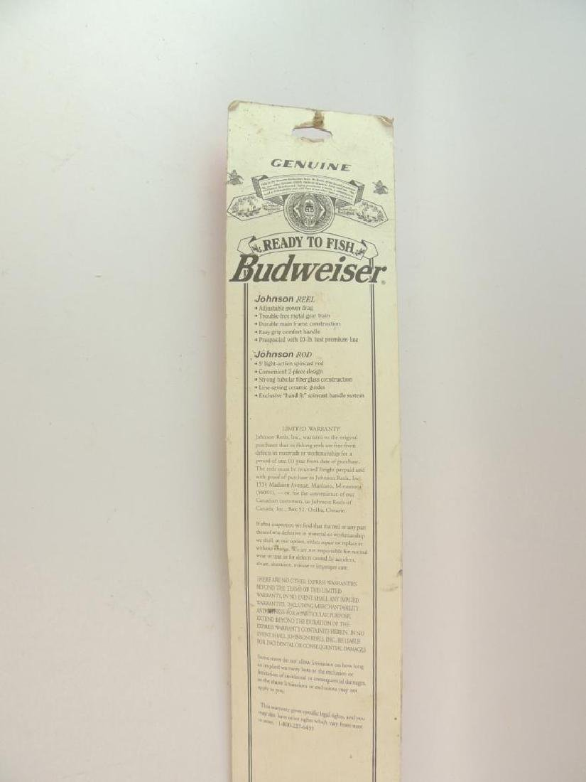 Budweiser Ready to Fish Fishing Bud by Johnson Rod and - 2
