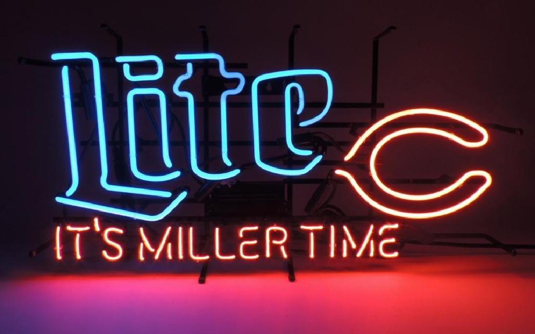 "Miller Lite Chicago Bears ""Its Miller Time"" Advertising"