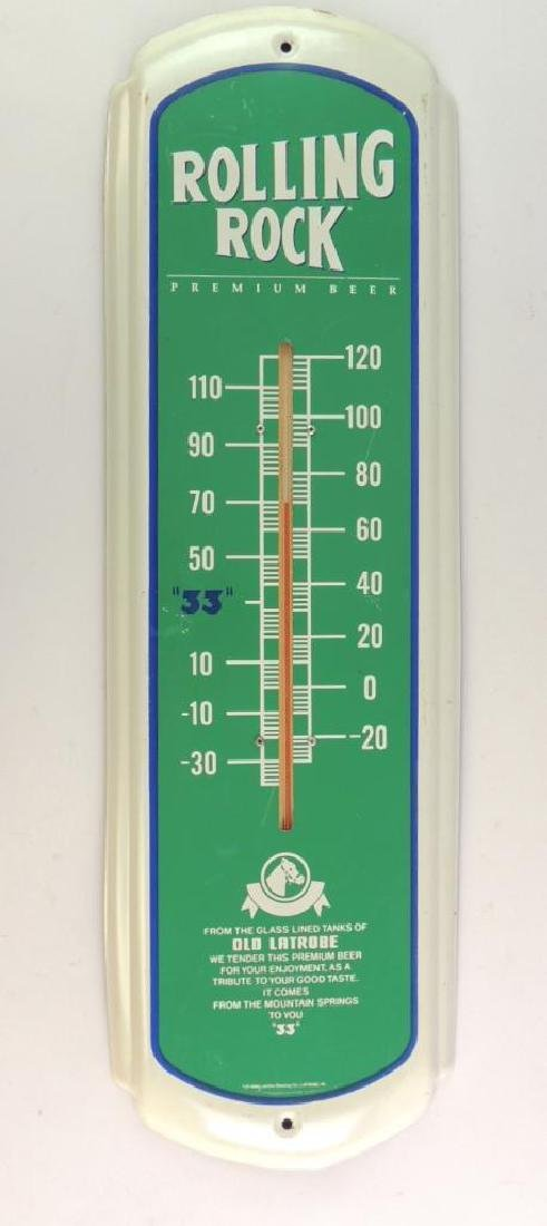 Rolling rock Advertising Modern Thermometer