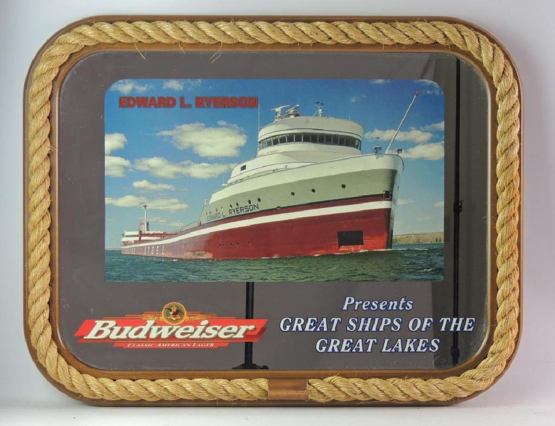 """Budweiser """"Great Ships of the Great Lakes"""" Advertising"""