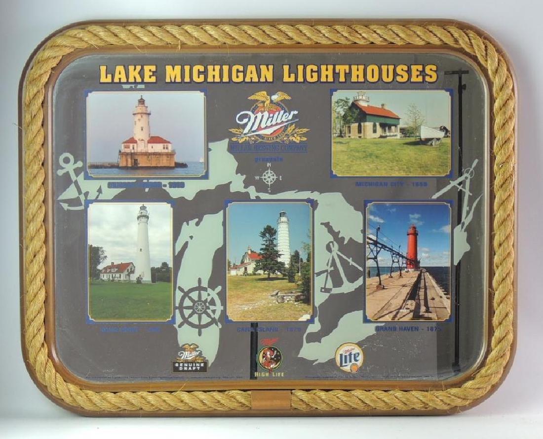 """Budweiser """"Lake Michigan Lighthouses"""" Advertising"""