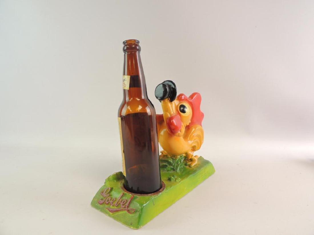 Vintage Goebels Beer Advertising Counter Top Display - 2