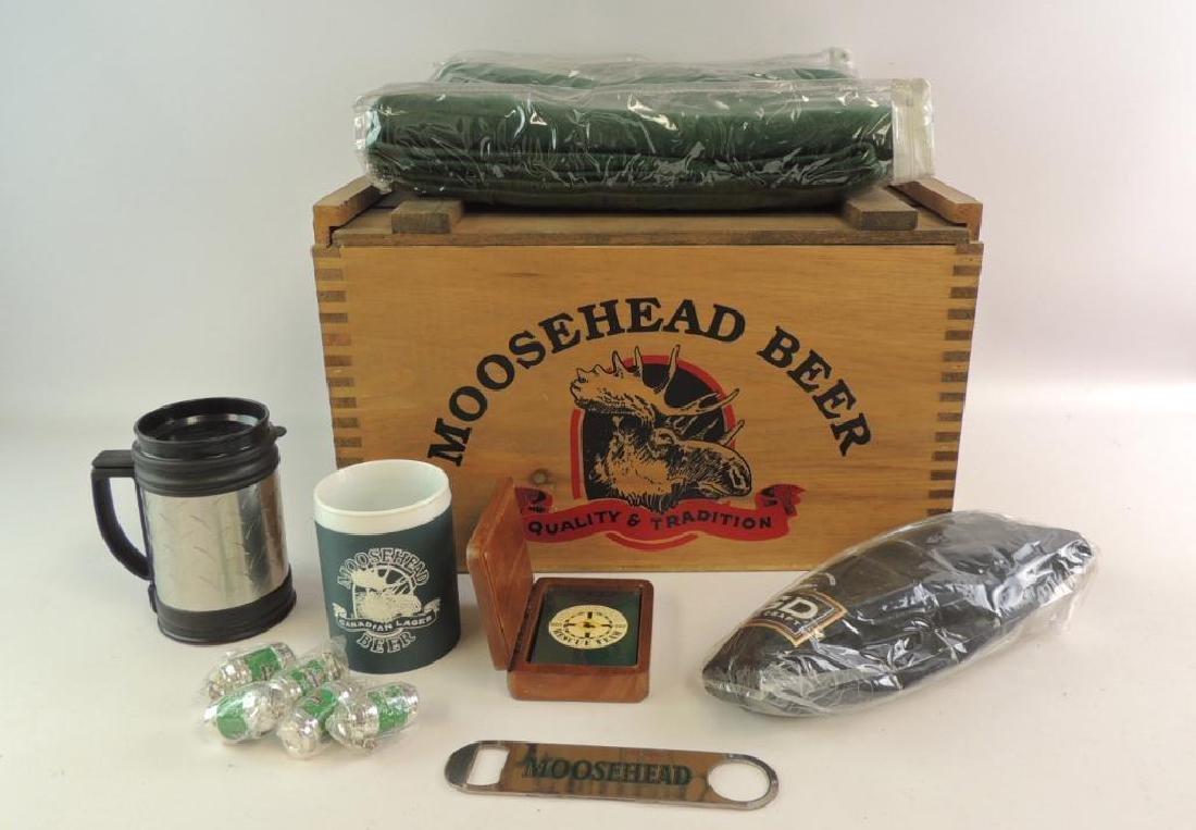 Moose Head Beer Advertising Grouping