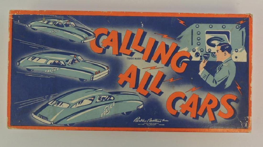 "Vintage ""Calling All Cars"" Board game"