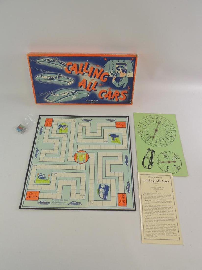 "Vintage ""Calling All Cars"" Board game - 2"