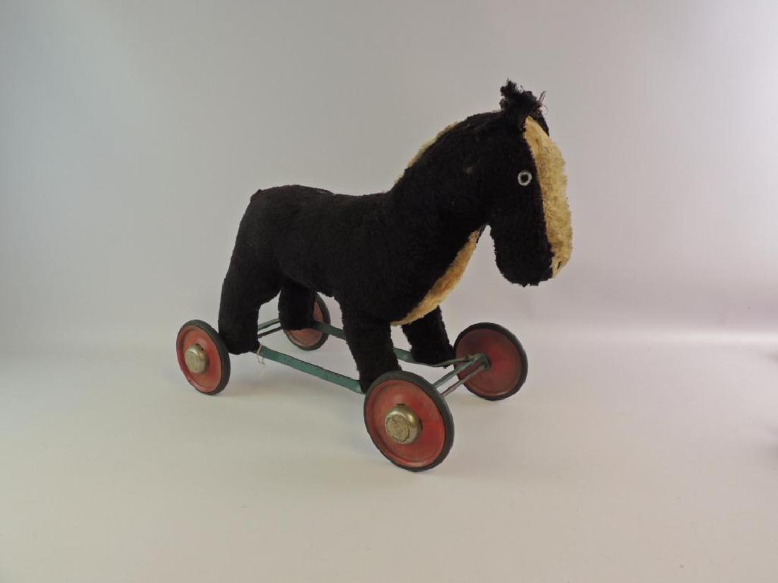 Vintage Childs Pony Pull Toy