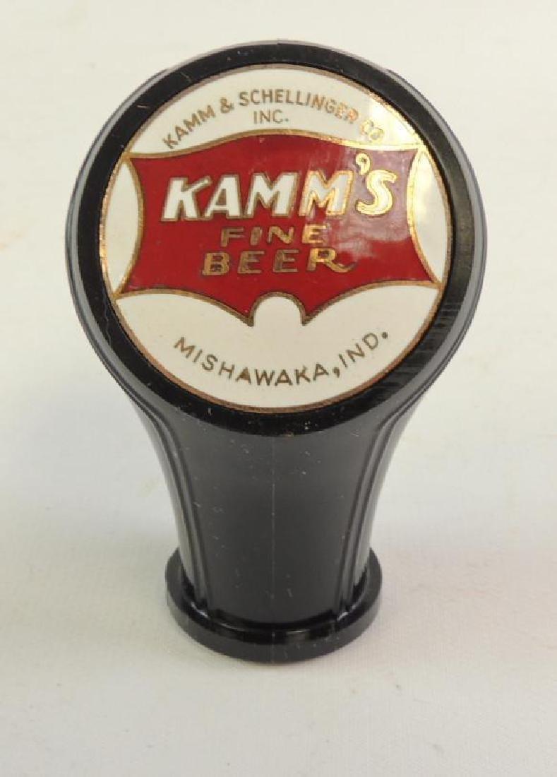 Vintage Kamm's Fine Beer Advertising Beer Tapper