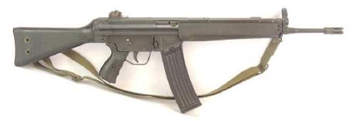 HK Model 93A .223 Cal. Semi Auto Assault Rifle with