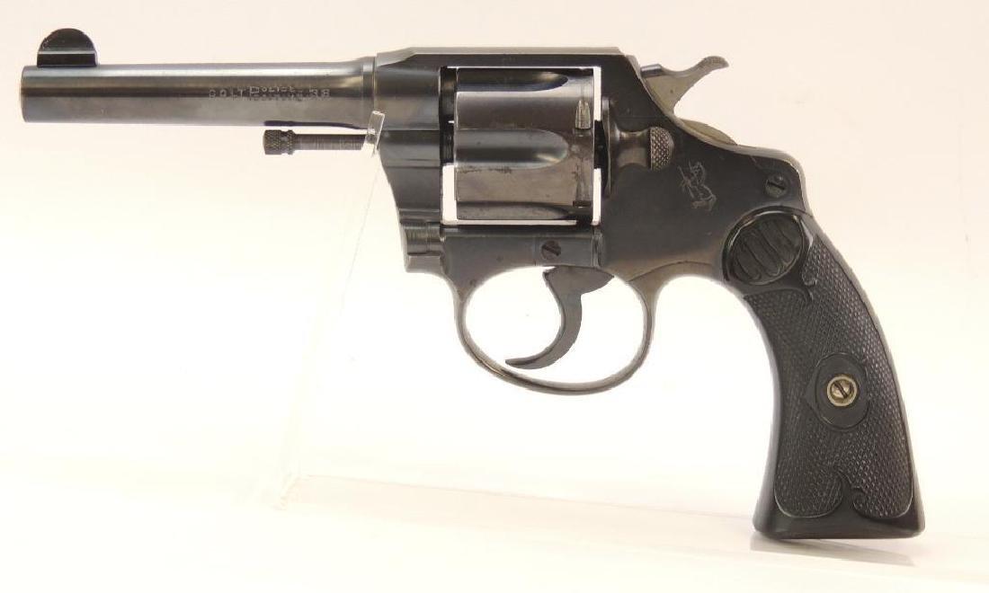 1919 Colt Police Positive .38 Revolver