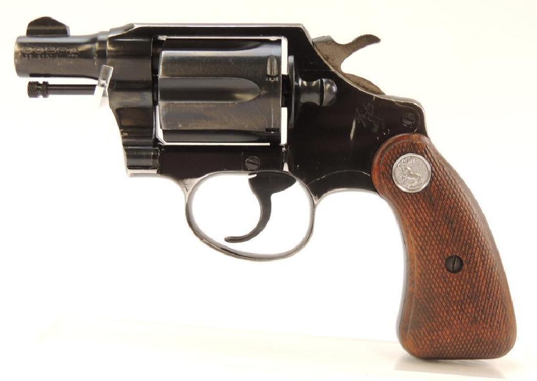 1956 Colt Cobra .38 Special Snub Nose Revolver
