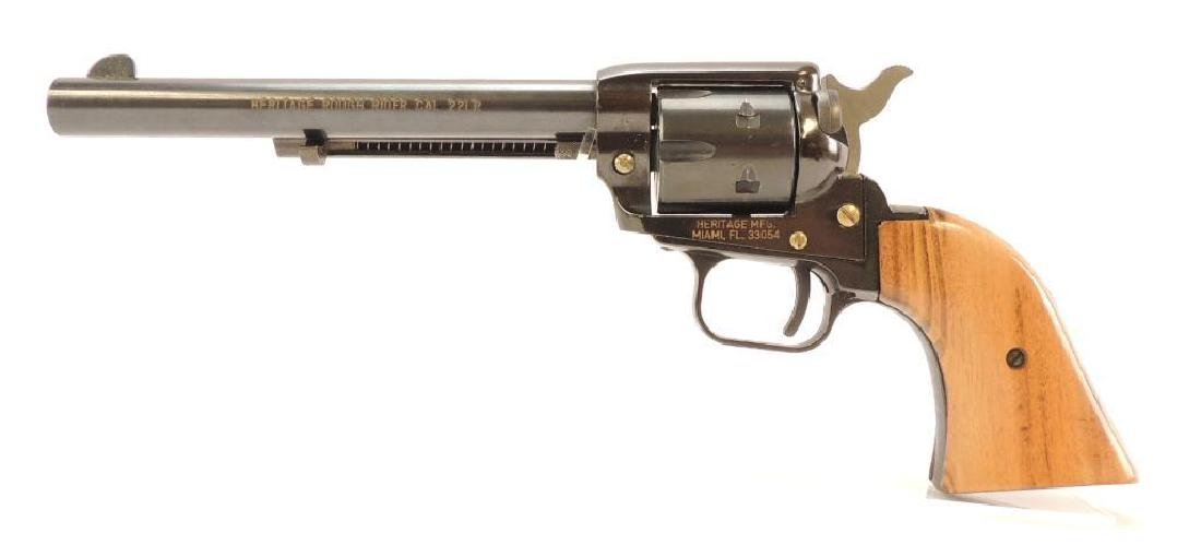 Heritage Rough Rider .22 LR Cal. Revolver with .22 Mag