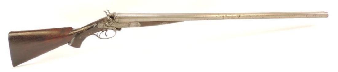 W.W Greenel 12 GA. Side by Side Double Barrel Break