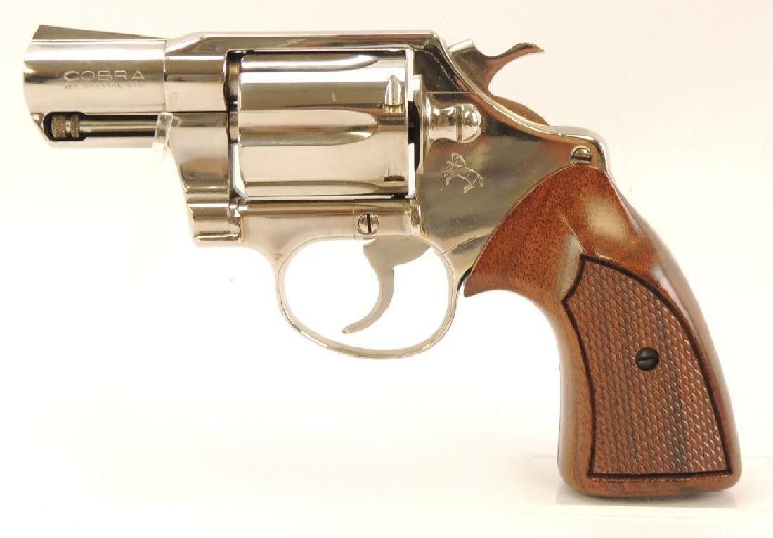 Colt Cobra .38 Special Snub Nose Revolver with Original