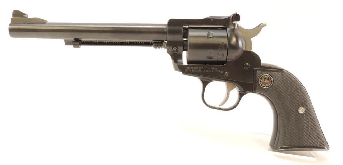 Ruger New Model Single Six 17 HMR Revolver with
