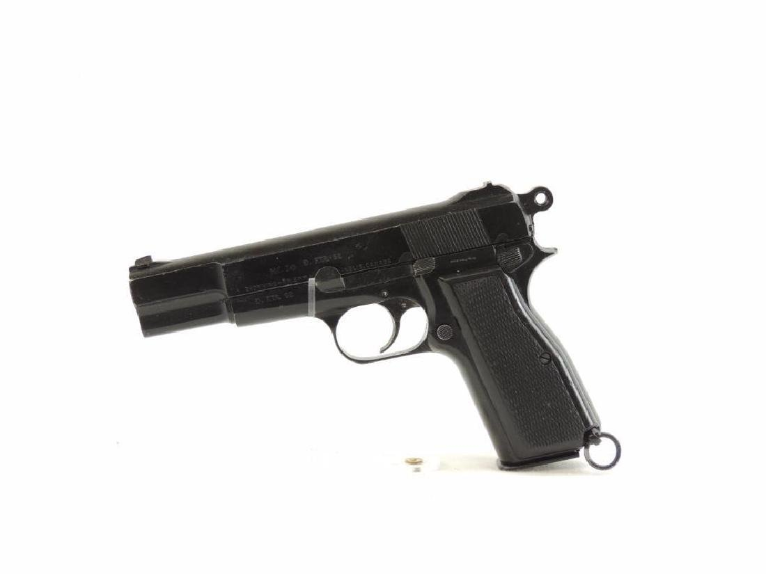 Browning/Inglis Hi-Power MK I 9mm Semi-Auto Pistol